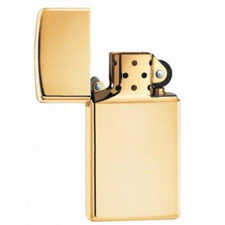 Bricheta Zippo 1654B High Polish Brass Slim