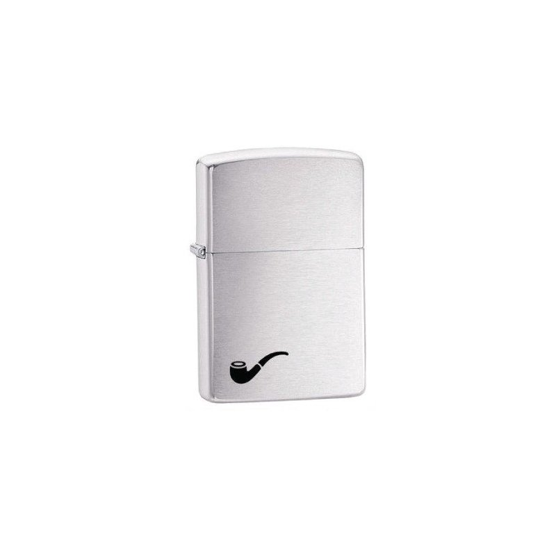 Bricheta Zippo 200PL Brushed Chrome Pipe Lighter