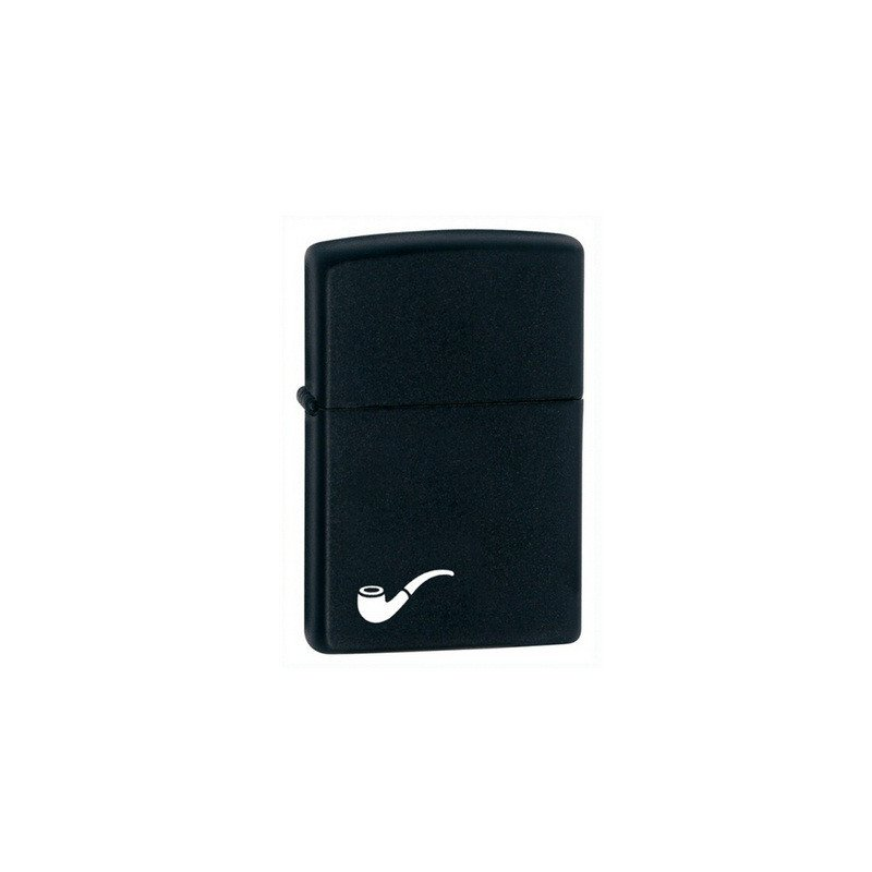 Bricheta Zippo 218PL Black Matte Pipe Lighter