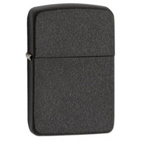 Bricheta Zippo 28582 1941 Replica Black Crackle