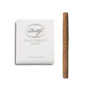 Tigari de foi Davidoff Mini Cigarillos Silver 10
