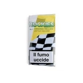 Tutun de rulat tigari Rockies Yellow Virginia 20 g