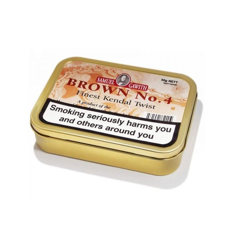 Tutun de pipa Samuel Gawith Brown No. 4 Finest Kendal Twist 50 g