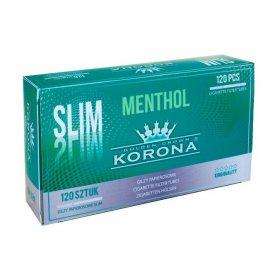 Tuburi tigari Korona Slim Menthol 120