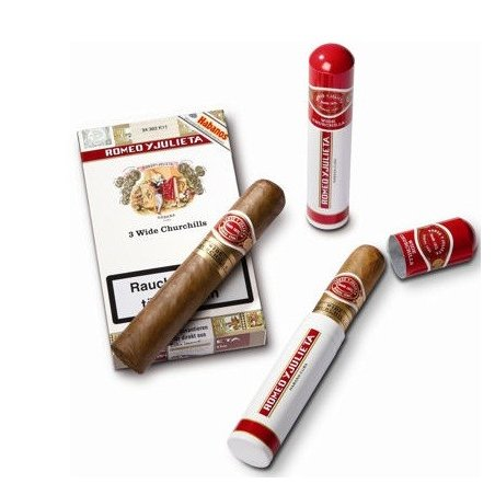 Trabucuri Romeo Y Julieta Wide Churchills Tubos 3