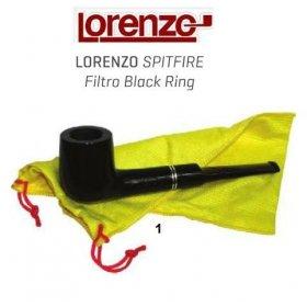 Pipa Lorenzo Spitfire Filtro Black Ring 1