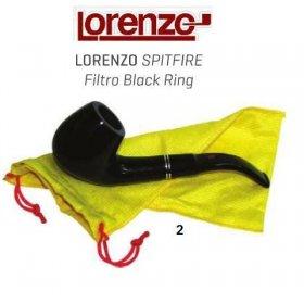 Pipa Lorenzo Spitfire Filtro Black Ring 2
