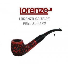 Pipa Lorenzo Spitfire Filtro K2 Sand 1