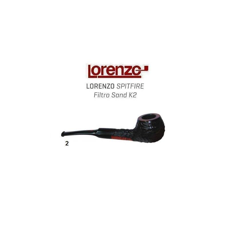 Pipa Lorenzo Spitfire Filtro K2 Sand 2