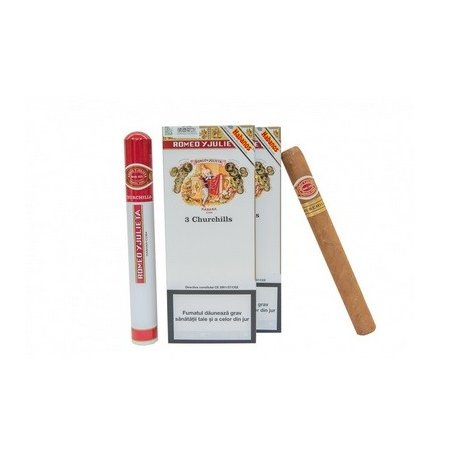Trabucuri Romeo y Julieta Churchills 3
