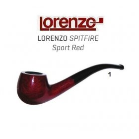 Pipa Lorenzo Spitfire Sport Red 1