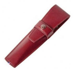 Etui Stilou S.T. Dupont Chrome Red 180617