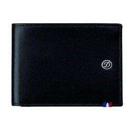 Portofel S.T. Dupont Line D 6CC Billets Black 180002
