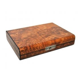 Humidor 10 trabucuri Angelo Travel Brown