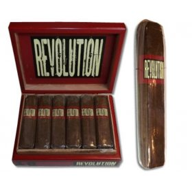Trabucuri A. Turrent Revolution Short Robusto Pressed Box 18