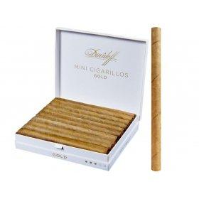 Tigari de foi Davidoff Mini Cigarillos Gold 10S