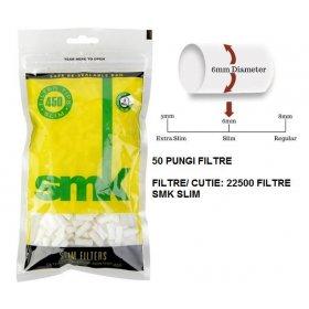 Filtre tigari SMK Filters Slim 50 pungi