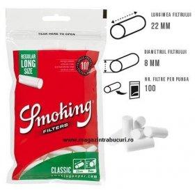Filtre Smoking Filters Classic Regular Long 100