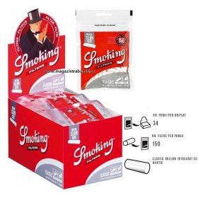 Filtre tigari Smoking Filters Classic Ultra Slim 34 pungi