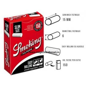 Filtre tigari Smoking Easy Slim 150