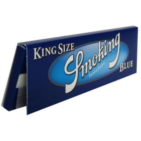Foite rulat tigari Smoking King Size Blue 33