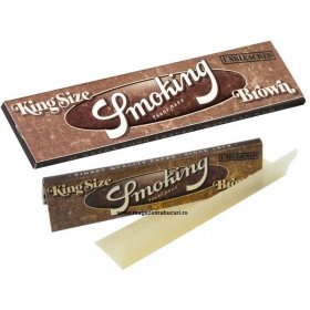 Foite rulat tigari Smoking King Size Brown 33
