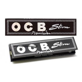 Foite rulat tigari OCB Slim Black 110 mm