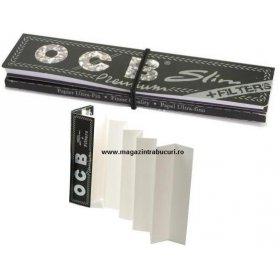 Foite rulat tigari Ocb Slim 110 mm si filtre