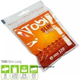 Filtre rulat tigari Tobi Slim Long 120