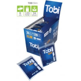 Filtre rulat tigari Tobi Slim 34 pachete