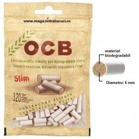 Filtre tigari Slim OCB Biodegradabile 120