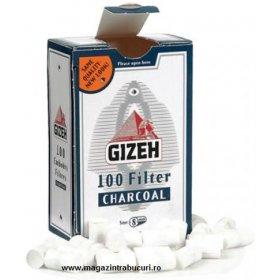 Filtre rulat tigari Gizeh Carbon 100