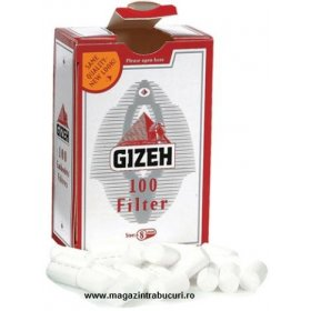 Filtre rulat tigari Gizeh Fine Red 100