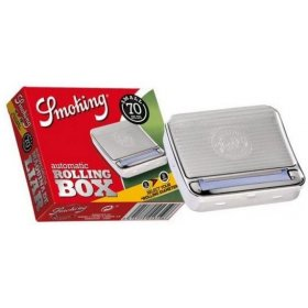Tabachera cu aparat rulat Smoking Box 70 mm