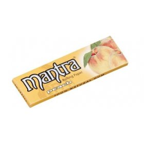 Foite rulat tigari Mantra Peach Medium 50