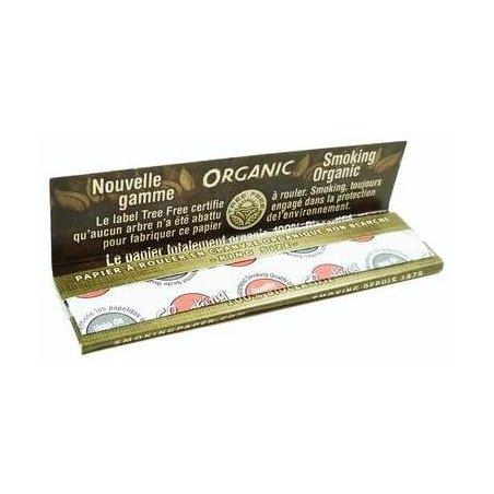 Foite de rulat Smoking Regular Organic 60