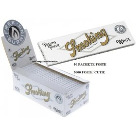 Foite rulat tigari Smoking Regular White 50 pachete
