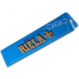Foite rulat tigari Rizla King Size Blue Slim 32