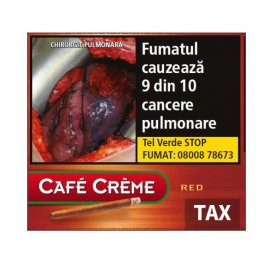 Tigari de foi Cafe Creme Red 10