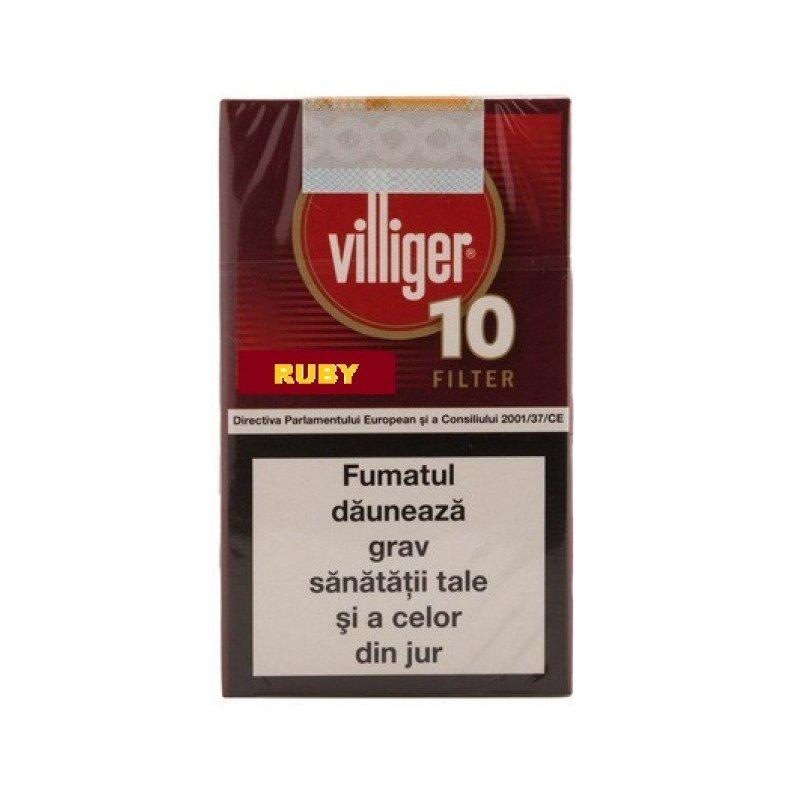 Tigari de foi Villiger Small Cigars Ruby 10