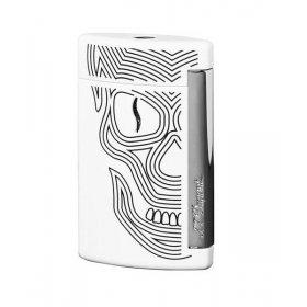 Bricheta S.T. Dupont Minijet Skulls Blanc