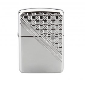 Bricheta Zippo 24952 Deep Carved Heavy Walled Armor Basketweave