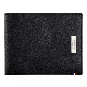 Portofel S.T.Dupont 180262 Soft Diamond Grained Black Leather