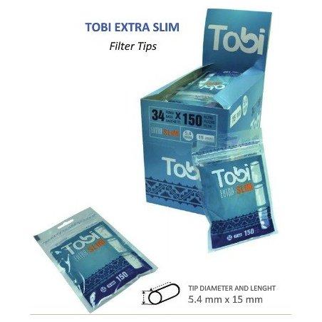 Filtre de rulat Extra Slim 5,4 mm Tobi 34 Pungi
