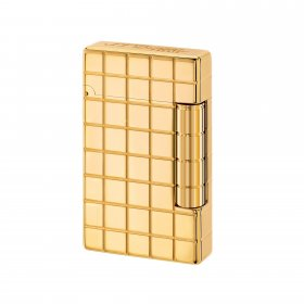 Bricheta S.T. Dupont Initial Square Gold