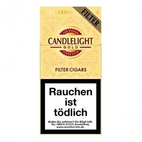 Tigari de foi Candlelight Gold Filter 10