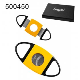 Cutit trabucuri Angelo Metal Black Yellow